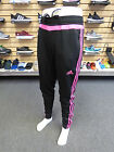 NEW ADIDAS Tiro 15 Womens Training Pants - Black/Pink;  AP0319