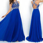 Backless Women Party Prom Gown Satin Dresses Mermaid Long Evening Dress Gift