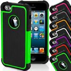 Shockproof Rugged Slim Armor Apple iPhone 4 4S SE 5 5S Case Cover USA SELLER