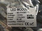 Samsung LED Lights Module Super Bright 1.2W Cool White/Blue/Green 100PK