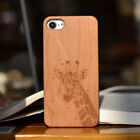 Engraved Mobile Phone Natural wooden Wood  Case for iPhone7/7plus/6/6s/6plus/6sp