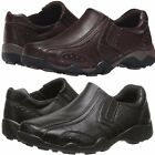 Detour Jimmy Recess Slip-On Faux Leather Loafer Casual Shoes Black OR Brown