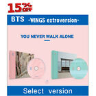 BTS - YOU NEVER WALK ALONE CD+PHOTOBOOK+PHOTOCARD+folded poster+standee /