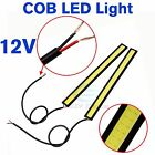 2X High Power COB Car LED Lights DRL Fog Daytime Driving Lamp Bulb Waterproof