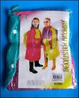 Kids Multi Color Winter Raincoat Cartoon Character Girls XL XXL New Free Post