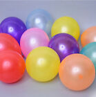 100pcs 10 inch Pearl Latex Colorful Thickening Wedding Party Birthday Balloon  фото