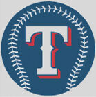 Cross stitch chart, Pattern, Texas Rangers, Baseball, Major League, MLB