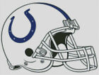 Cross stitch chart, Pattern, Indianapolis, Colts, NFL, US, American, Football