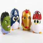 Fat Birds Cosplay Marvel's The Avengers Comical Pendant Accessories Bag Backpack