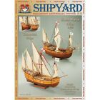 Santa Maria & Nina 1:96 Shipyard 65 Paper model ship kit