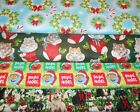 CHRISTMAS #6  FABRICS Sold INDIVIDUALLY NOT AS A GROUP By the HALF YARD