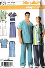 Scrubs Tops & Pants Pattern  Unisex 2 Style  Simplicity 4101 size AA S,M.L