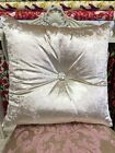 STUNNING CRUSHED VELVET CUSHION - VARIOUS COLOURS