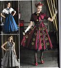 Simplicity 8187 Party Dress pattern Dr Who Cosplay Costume  R5 or H5 Sizes