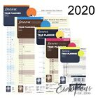 Filofax Year Planner Diary Refill Insert - Select Size and Year