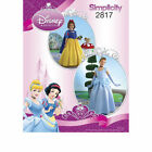 Simplicity 2817 Sewing PATTERN Disney Princess Cinderella Snow White Costume K5