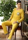 Fashion Fall RTRT Cotton 2PCs Men's Long Sleeves Leisure Wear Sets L/XL/2XL/3XL