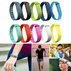 Large/ Small TPU Replacement Wrist Band with Clasp For Fitbit Flex Bracelet NEW