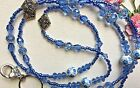 Diva Crystal Beaded Lanyard/I.D/Badge/Cruise Card/Holder