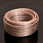 silver cable - Lot Parallel Speaker Wire Cable OFC Gold Silver 8 10 12 14 16 18 20 22 24 Gauge