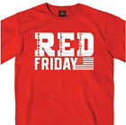 RED Friday (Remember Everyone Deployed) T-Shirt NEW Military Sizes XL & 2XL