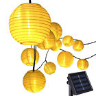 20 LED Lantern Solar Powered String Indoor or Outdoor Lights