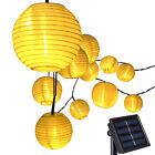 30 LED Lantern Solar Powered String Indoor or Outdoor Lights