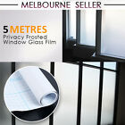 Privacy Sand Blast Clear Privacy Frosted Frosting Removable Window Glass Film AU