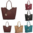 New Dasein Fashion Luxury Faux Leather Women's Handbag Shoulder Tote Bag For Her