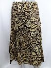 Womens JONES NEW YORK Signature Sz 2P Brown Floral Skirt NWT $79