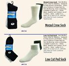 DIABETIC SOCKS LOW CUT PED & MORPUL CREW - JT FOOT BAND - MDCOMFORT