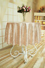 """50"""" Round Sequin Tablecloth,Sequin Tablecloth Wedding,Sequin Linen for Party"""