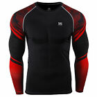 ZIPRAVS Mens Compression skin shirts training gym rash guard  BASE LAYERS Top
