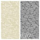 Fine Decor Ceramica  Glitter Slate Wallpaper 10m 2 Colours