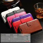 Flip Card-Slot Wallet Leather Case Cover For Motorola Moto G4, XT1622 / XT1625