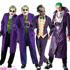 ADULT MENS THE JOKER BATMAN DC COMICS COSPLAY ARKHAM SUICIDE SQUAD FANCY DRESS