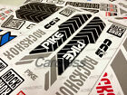 PIKE Rock Shox Mountain Bike Front Fork Decals MTB Cycling DH Race Dirt Stickers