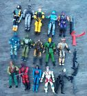 lot of 15 hasbro GI-joe military action figures small size 3.5 inch