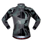 Unisex Cycling Jersey Long Sleeve Sports Bike Team Clothing Bicycle Jerseys Wear