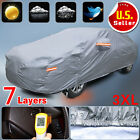 7 Layer Car Cover Waterproof Outdoor Breathable Sun Snow Rain Dust Resistant 3XL