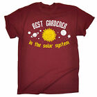 BEST GARDENER IN THE SOLAR SYSTEM T-SHIRT gardening tee funny birthday gift 123t