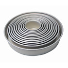 "PME Round Cake Pans - 3"" Deep Professional Quality Baking Tins - 3"" to 14"""