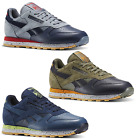 Reebok Classic Leather Speckle Midsole Sneakers Mens Lifestyle Shoes