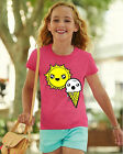 Kawaii Cute Sun Ice cream funny Pink mori Girls child girl Shirt Tshirt Harajuku