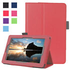 Luxury Leather Shockproof Stand Smart Stay Case Cover For Amazon Kindle Fire 7