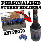1-100 PERSONALISED WEDDING GIFT STUBBY HOLDER Beer Bottle Cooler custom stubbie