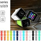 Sports Silicone Bracelet Strap Band For Apple Watch iWatch Series 2/1 38mm/42MM
