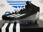 NEW ADIDAS Filthyspeed Mid Fly Men's Football Cleats - Black/White;  G99461