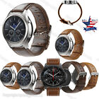 Quick Release Retro Leather Watch Band Wrist Strap Bracelet For Samsung Gear S3
