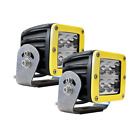 ALL MAKES AND MODELS RIGID 2 WIDE WHITE  D2 HD YELLOW LED LIGHT